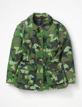 Khaki Stars Utility Jacket