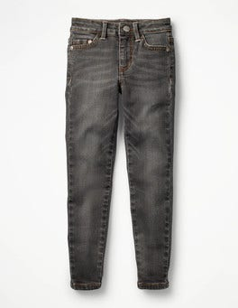 Grey Superstretch Skinny Jeans