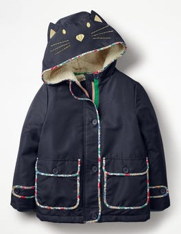 Novelty Sherpa-Lined Anorak