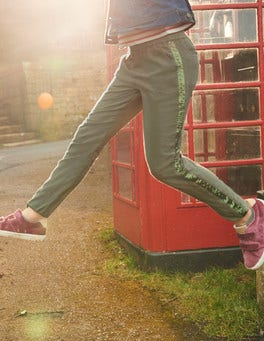 Sparkle Detail Woven Trousers
