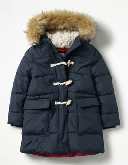 Long-line Padded Jacket