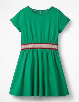 Green Pepper Sporty Jersey Dress