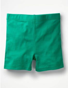 Deep Green Jersey Shorts