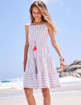 Tiered Strappy Sun Dress