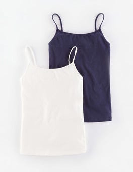 Navy 2 Pack Cami