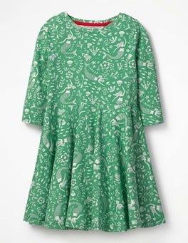 Twirly Jersey Dress