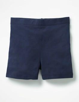 Navy Jersey Shorts