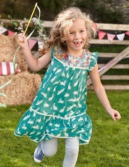 Crinkle Hotchpotch Dress