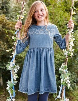 Floaty Denim Dress