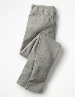 Grey Marl Plain Cosy Leggings