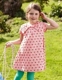 Spotty Bow Dress