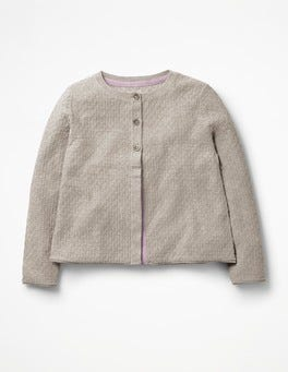 Grey Marl Pretty Cardigan