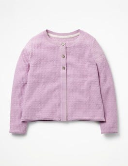 Lavender Purple Pretty Cardigan