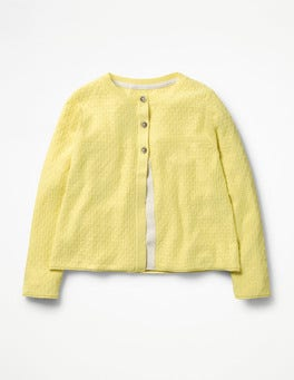 Zest Yellow Pretty Cardigan