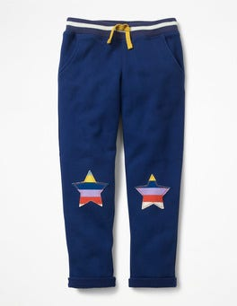 Starboard Blue Star Appliqué Sweatpants