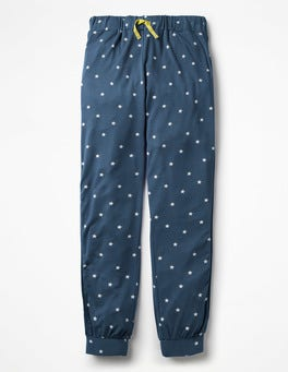 Starboard Blue Relaxed Jersey Trousers