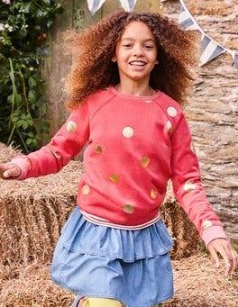 Foil Spot Sweatshirt