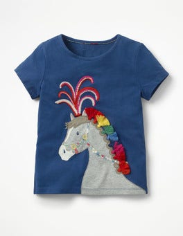 Starboard Blue Horse Animal Talent T-shirt