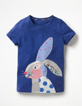 Patchwork Appliqué T-shirt