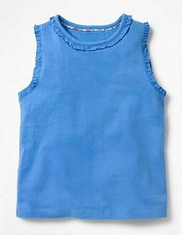 Penzance Blue Pretty Tank Top