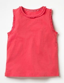 Strawberry Split Pink Pretty Tank Top