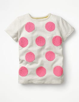Ivory Spot Colour-change T-shirt