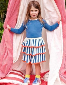 Circus Stripe Knitted Dress