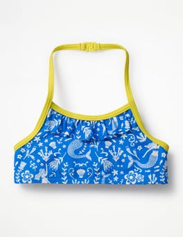 Oasis Blue Mermaid Toile Pretty Bikini Top