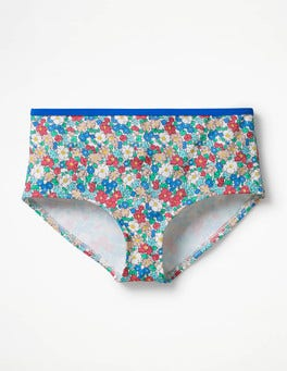 Oasis Blue Floral Swim Shorts