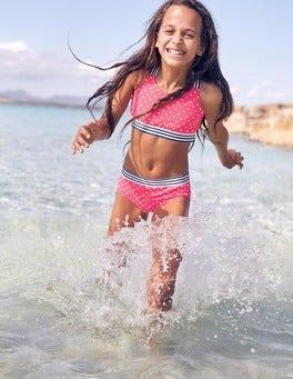 Bikini à rayures