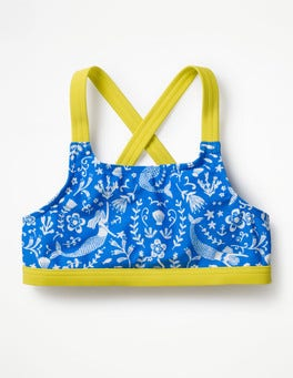 Oasis Blue Mermaid Toile Surf Bikini Top