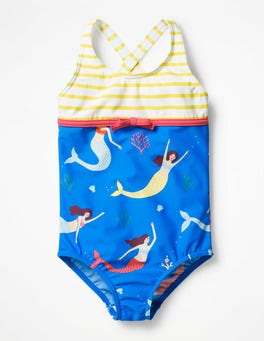 Oasis Blue Mermaids Hotchpotch Swimsuit
