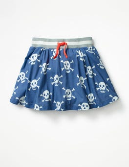 Starboard Blue Skulls Jersey Skort