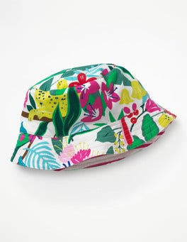 Ecru Jungle Jumble Jersey Reversible Hat
