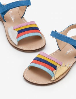 Penzance Blue Holiday Sandals