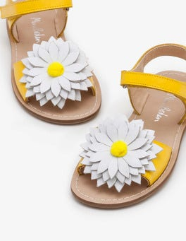 Sunshine Yellow Holiday Sandals