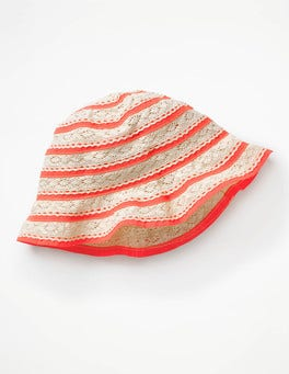 Paradise Pink Pretty Summer Hat