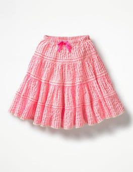 Knockout Pink Stripe Twirly Skirt