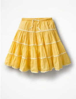 Sunshine Yellow Twirly Skirt