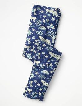 Starboard Blue Island Batik Fun Leggings