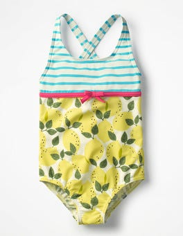 Ivory Lemon Tree Hotchpotch Swimsuit