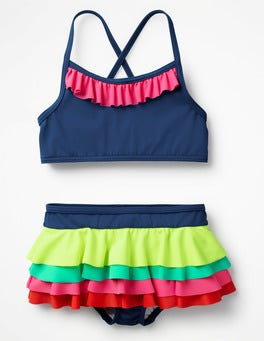 Deep Sea/Rainbow Pretty Bikini Set