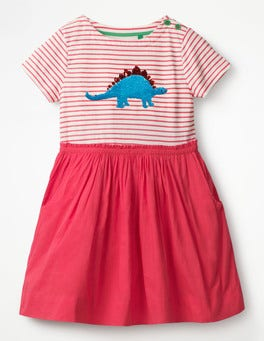 Strawberry Split Pink Dinosaur Sequin Colour-change Dress