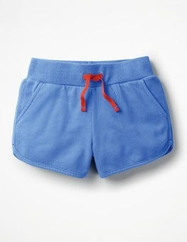 Penzance Blue Drawstring Sweatshorts