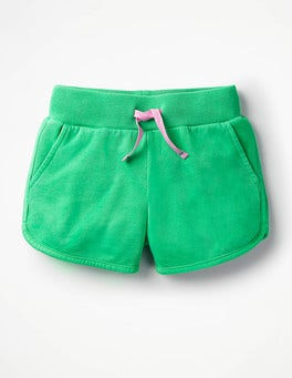 Peppermint Green Drawstring Sweatshorts