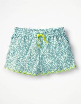 Camper Blue Vine Printed Woven Shorts