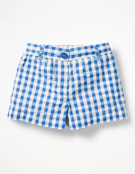 Skipper Blue Gingham Bright Adventure Shorts