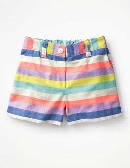 Candy Stripe Bright Adventure Shorts