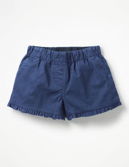 Starboard Blue Frill Detail Shorts