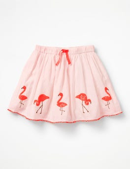 Paradise Pink/Pink Mist Flamingo Sequin Skirt